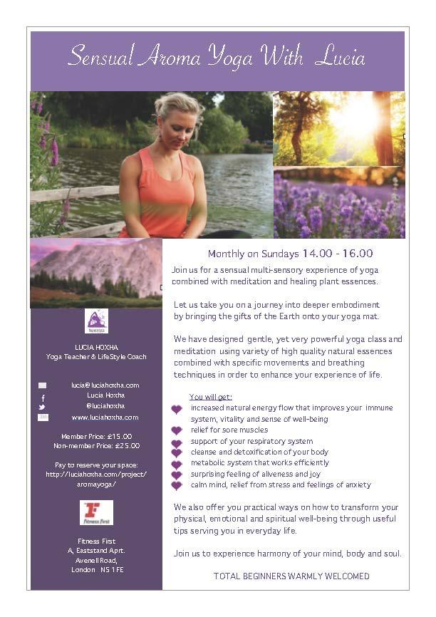 AromaYoga Leadlet 1 - Lucia Hoxha   Yoga   Lifestyle Coach   Online Yoga for Women