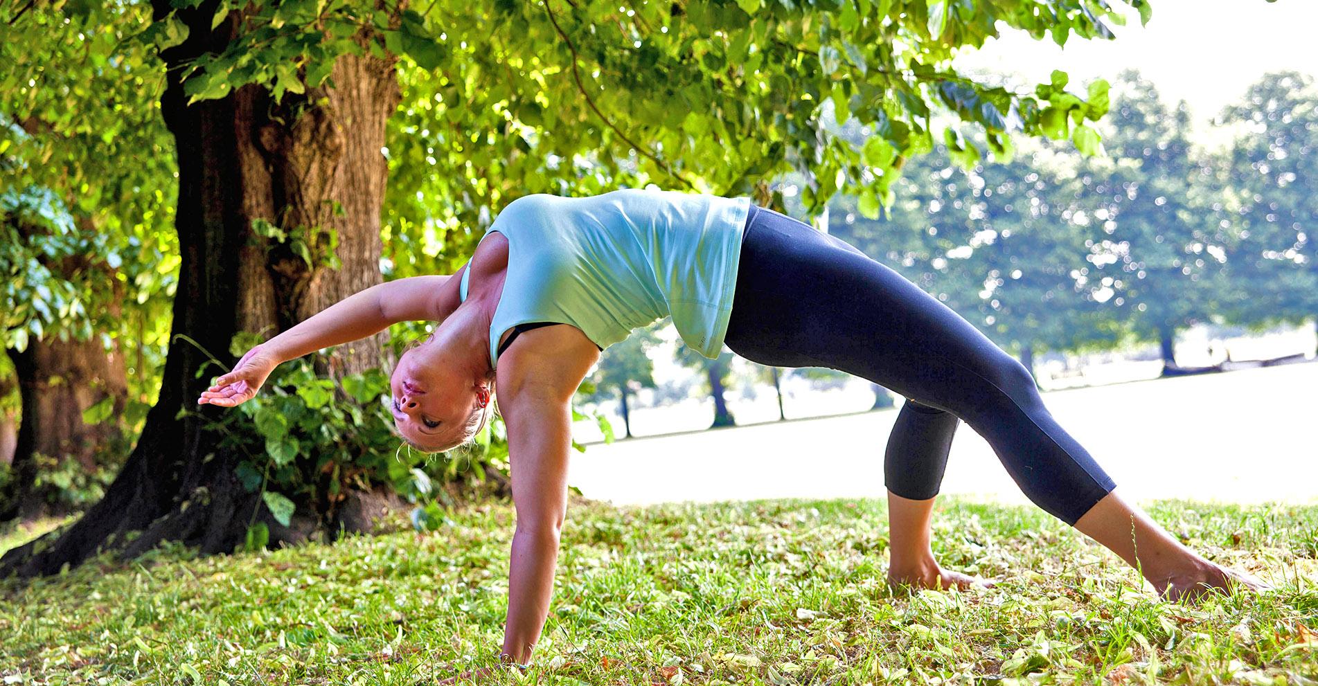 Lucia Yoga Pose 2 - Lucia Hoxha   Yoga   Lifestyle Coach   Online Yoga for Women