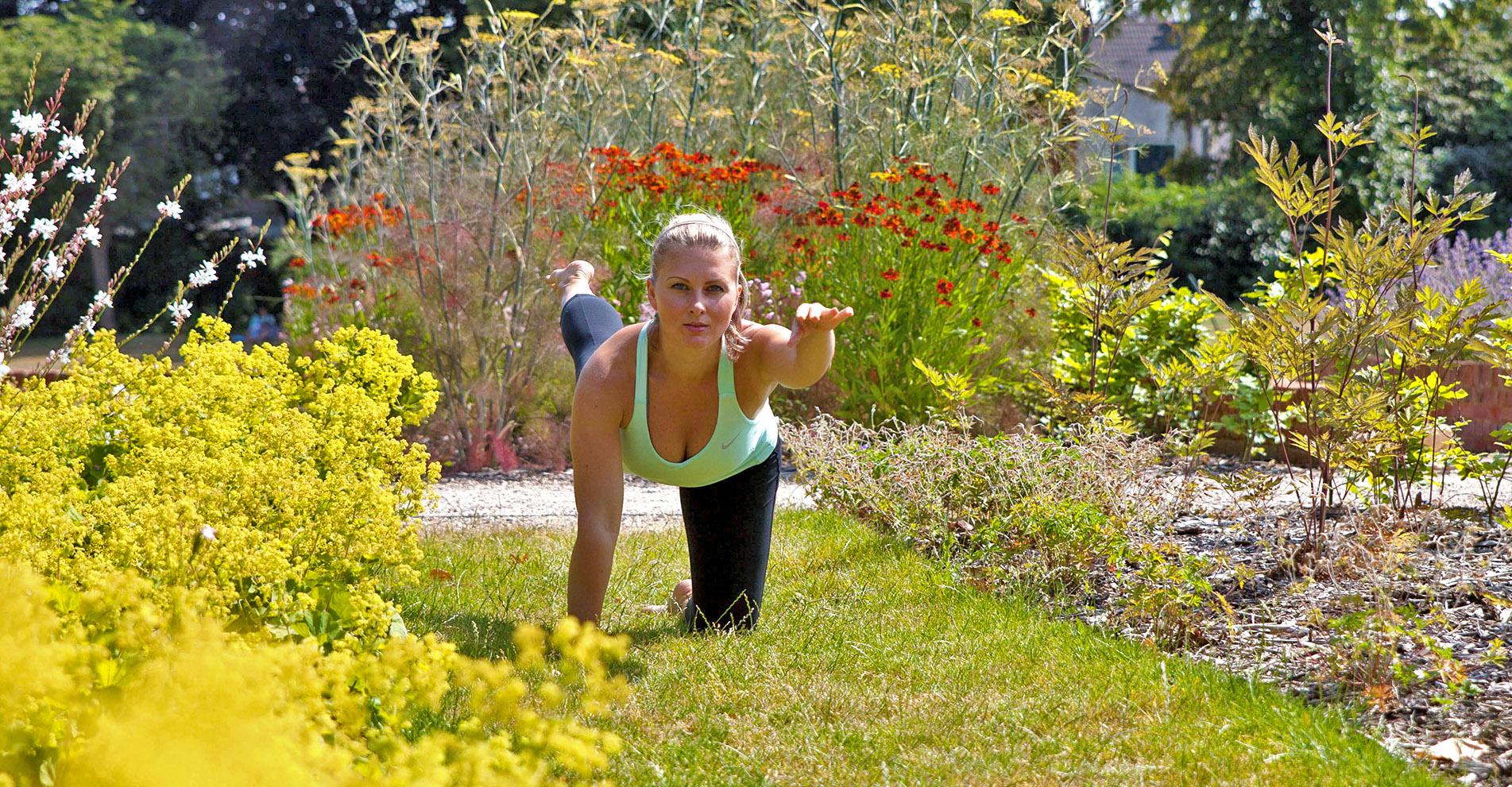 Lucia Yoga Pose 1 - Lucia Hoxha   Yoga   Lifestyle Coach   Online Yoga for Women